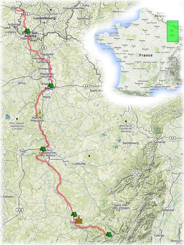 Схема путешествия